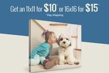 Hot Deals from Canvas People / Check out these great deals and coupons from Canvas People. Then get your very own canvas: http://bit.ly/1B0qqHY