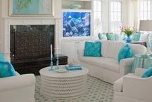Living room, Family room, Den, etc..... / by Michelle Fedele
