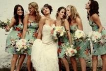 / Bridesmaid inspiration / / Bridesmaids dresses we LOVE!