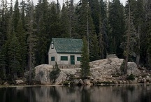 Outdoor Photography & Destinations / Photographs that capture the essence of the wilderness. Featuring campsites, cabins in the woods, trails, canoe adventures and lakes.