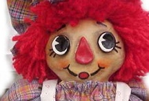 MY RAG DOLLS / Some rag dolls I have created over time.