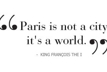 / Paris ♥ / / The most romantic city in the world!