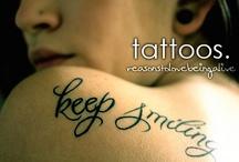 I レo√乇 tattoos!! / by ~~♥♥ Cняiƨtiиɛ ♥♥♥ Cσσκ ♥♥~~