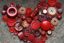 RED work ♥ / I see RED...but I'm not mad!  / by Myrna Smith