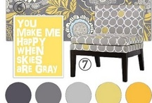 Grey and Yellow/ Gold / by Michelle Fedele