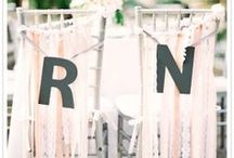 Wedding Day / Rustic Garden Wedding Decorations and Ideas