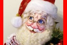 Christmas Doll Patterns / Christmas dollights e-patterns. CONTACT ME AT; designsbykatcs@bellsouth.net