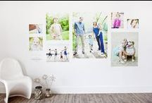 Walls of Art / Cool ideas and fun tips for how (and where) to hang your canvas!