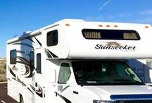 RV Travel / A collection of useful RV hacks + fun destinations!