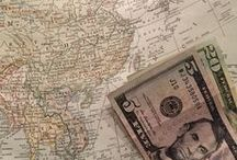 Travel on a Budget / Stretch you dollars and travel the world on a shoestring budget with these tips!