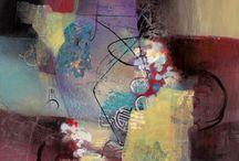 Art | Abstract | Mixed Media / by Rhea Groepper Pettit