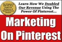 Pinterest Beginners Guides / Just starting out on Pinterest? Here are several guides that might help. Including mine - The Ultimate Pinterest Marketing Guide, or should I say, The Original & Still The Best...Ultimate Pinterest Marketing Guide. Just click on the image, and it will enlarge, then click it again and it will take you to the original blog post where you can read the content of the article.