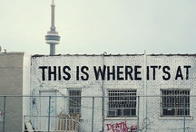 """Toronto Neighbourhoods / """"A city is a place where there is no need to wait for next week to get the answer to a question, to taste the food of any country, to find new voices to listen to and familiar ones to listen to again."""" ~ Margaret Mead  / by Chestnut Park Real Estate"""