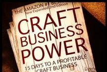 Craft Business Power book / Craft Business Power is an Amazon #1 Bestselling ebook in the Web-Marketing & Ecommerce categories. It's helping thousands of people on their startup journey. Many people say that it's a great resource for ANY type of business startup. Get your copy today!  / by Jason Miles