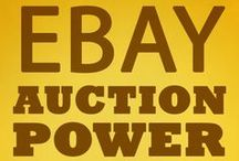 eBay Auction Power / The Amazon #1 Hot New Release in the Ebay Category. Learn the 9-step process for achieving ultra premium prices. Have you seen extreme examples on eBay? Let us know - we'll include it as an example. / by Jason Miles, bestselling author