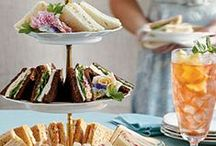 High Tea / English or Southern style? Both are yummy! / by Marla Taylor
