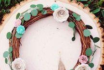 Floral Woodland Inspiration