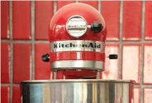 KitchenAid Bliss / I finally got my dream Kitchen Aid Pro Mixer....now, what to make first? / by Marla Taylor