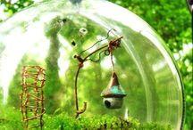 Terrarium / Teeny, tiny worlds in glass.