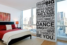 future house decor ideas / our new little apartment isn't quite big enough or right for these ideas, but our first house will be!! / by Alyssa Garrison