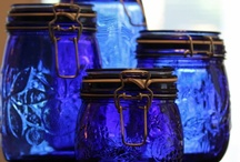 blue glass / by Heather Thompson