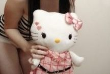 Hello Kitty Fan Forever! / I don't care if I'm over 30!  I will love Hello Kitty foreverrrrrr :D