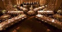 """TABLE SPACING Ideas / We RENT Tables, Chairs, Linens, Vases, Lighting, Tents & so much more! """"We Rent Celebrations!"""" www.BroadwayPartyRental.com"""