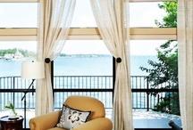Windows / Window treatments / by Carla Dixon