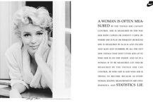 Marilyn Monroe...June 1,1926 to August 5,1962 / by DeLana Davis