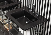 Black Is Back / Black bathroom products to make a statement in your bathroom design