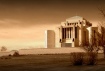 ♥️ Cardston Temple Art / I need a picture of the temple for my living room. Not too green, not too blue