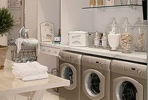 LAUNDRY ROOMS - Interior Design, layouts, colours, / laundry rooms, cabinets, tile, shelving, layout, floor, wall colour, paint, sinks, faucets, #InteriorDesign, #InteriorDesign. Interior Design by Jil Sonia McDonald of Jil Sonia Interiors, Chilliwack, BC V4Z 1K7 https://www.jilsoniainteriors.com/