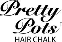 Pretty Pots Hair Chalk / Temporary Hair Colour to brighten any day xoxo