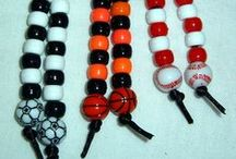 Sports and Teams / Sport theme beads and projects, school colors, mascots and more! #sports #sport #team #competition #beads #primabead  / by Prima Bead