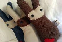 Imagine Them - Handmade Toys, South Africa / Handmade soft toys Imagine Them. 100% Hemp and 100% Cotton. www.facebook.com/imaginethemtoyshop