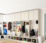 Home Organizing Ideas / Home Organizing ideas including shelving   Home organization, storage, organization,  shelves, cubbies, boxes, totes, ceiling storage, wall storage, DIY storage, dollar store storage, interior design, interior decor, interior styling, staging, folder, file cabinet, binder, free printable, labels, drawers, cabinet, furniture, home sweet home, organized home