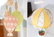 Hot Air Ballon Baby Shower