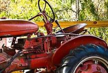 Farm Tractors / America loves the tractor - especially the older ones - it helped to build this nation. John Deere, Farm-All, International Harvestor, and others.