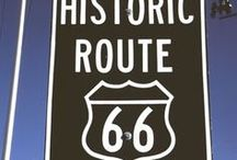 Route 66 / America's first great cross-country highway (before the Interstates) - it enjoys a rich history and is responsible for the development of many of the the towns along it.