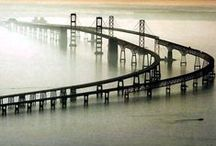 Bridges / Architectural wonders - many of them I have seen or traveled across. Some modern, some quite old.