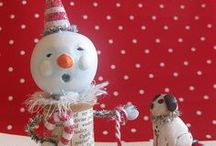 Christmas crafts/joulusaskartelut