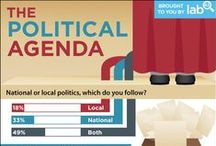 Political Social Media / Stats and numbers on political use of social media and technology  / by Paramount Communication