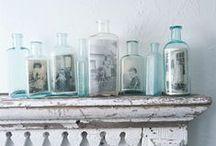 bottles / beautiful bottles / by Sophie Martin ॐ
