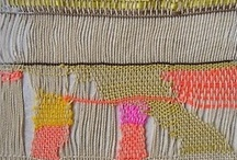 weft to right / by Agnes Baddoo