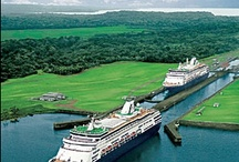 Priceless Panama Canal  / A Man-Made Modern Marvel.  / by Holland America Line