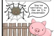 Homeschool: ELA: Charlotte's Web / by KC