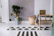 Rugs / Scandinavian rugs from well-known brands.