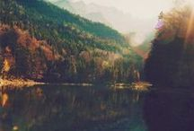 mountains * lakes