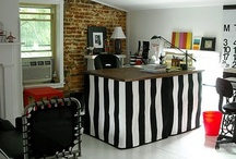 Studio Spaces / My studio and other creative spaces.