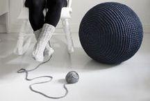 Fabric, Wool And Yarn